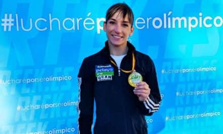 Sandra Sánchez se estrena con Oro en la Liga Nacional de Alicante con una ejecución perfecta de su Kata » Papuren».